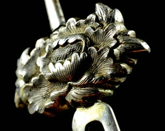 Antique Kanzashi Japanese Sterling Silver | Antique Kanzashi  | Japanese Antique Sterling Silver Kanzashi Japanese | Kanzashi antique silver