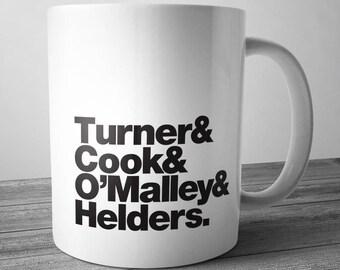 Band Line Up Mug: Arctic Monkeys