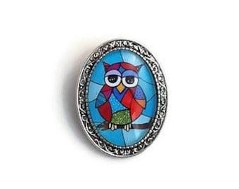 owl pins, owl brooch, owl lover pin, owl gift