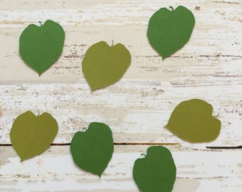 Basswood Leaf Confetti