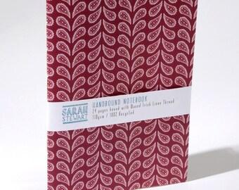 A5 Handbound Paisley Notebook