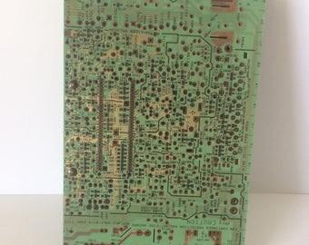 Electronic Circuit Board Filofax Style with ruler, Filofax Style, Filofax Style Binder, Pocket Organizer, Big Bang Theory
