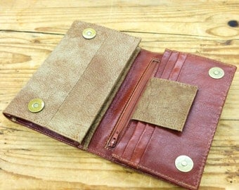 SALE !!! Distressed brown Woman Leather purse wallet Women wallets leather wallet leather Women wallet gift for girlfriend wife mom Gift