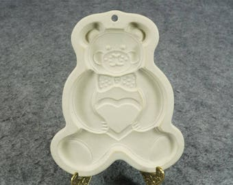 The Pampered Chef Teddy Bear Cookie Mold c. 1991