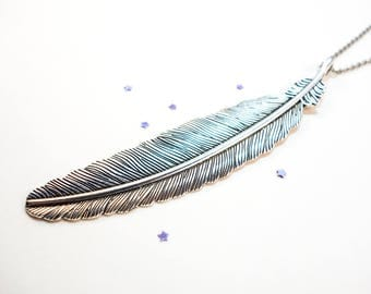 Feather Charm Necklace OR Choker