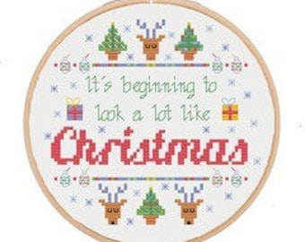 Cross Stitch Kit (Just chill!)
