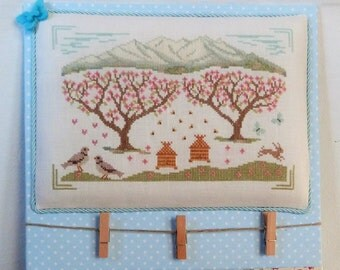 "PDF cross stitch chart ""Spring in the valley"""