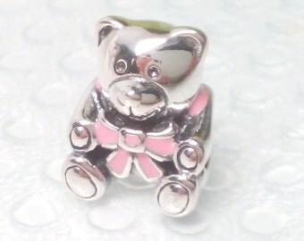 New Authentic Pandora Baby girl charm 791124EN24