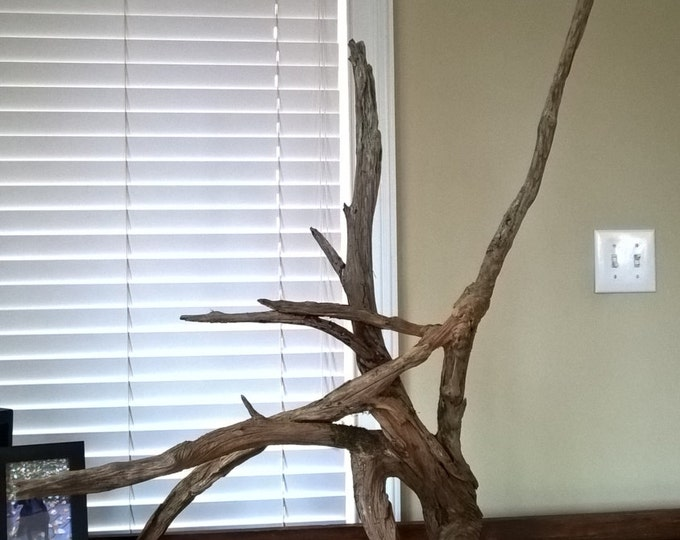 Extra Large Floor Standing Driftwood. Rustic Home Decor Sculpture Art 674