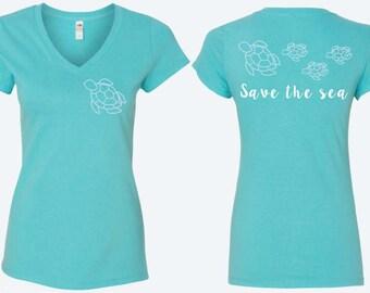 Save The Sea Sea Turtle Shirts, Save The Sea, Sea Turtle, Sea Turtle Rescue, Sea