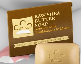 Beauty Soap - Raw Shea Butter Soap, Natural Soap, FREE SHIPPING in U.S. only