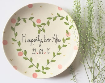 cute wedding gift ideas bride leaf crown happily ever after ideas personalised wedding - Wedding Gift Ideas