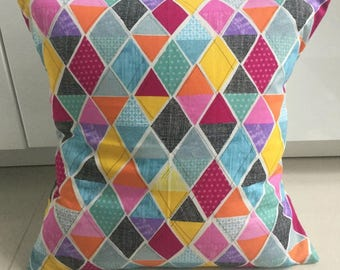 """HARLEQUIN COTTON 16"""" cushion cover"""
