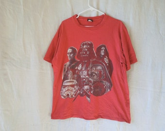 90s Star Wars Distressed T-Shirt