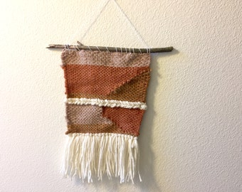 SALE!! 70s Inspired Hand Woven Wall hanging
