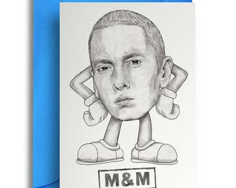 M&M Eminem Card
