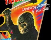 NES Friday 13th  Repro Box NO Game Included