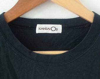 Hot Sale, Rare Vintage KANSAI o2 Tshirt Size M