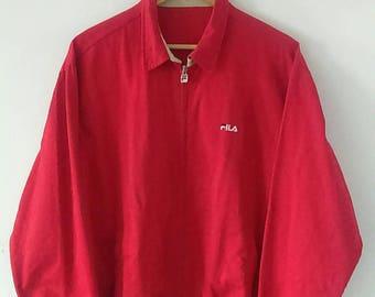 Rare Vintage FILA Harrington Jacket Size L