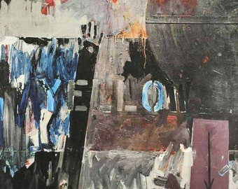 Jasper Johns Lands End 1970 Original Lithograph
