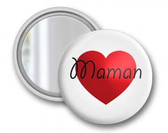 Pocket mirror love MOM