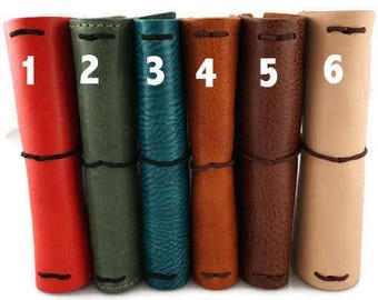 Deluxe Notebook-Quick Shipping  Choose Your Leather