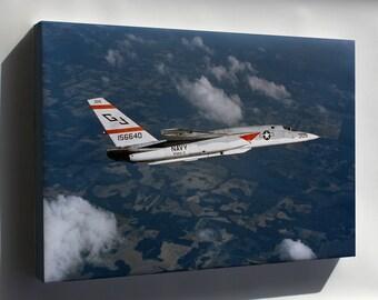 Canvas 16x24; (Rvah-3) North American Ra-5C Vigilante 1976