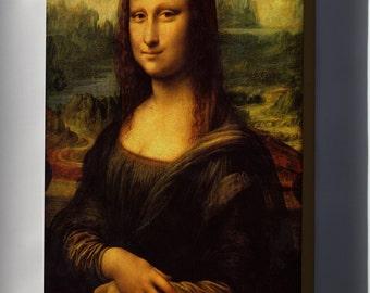 Canvas 16x24; Mona Lisa Current Appearance Leonardo Da Vinci P1