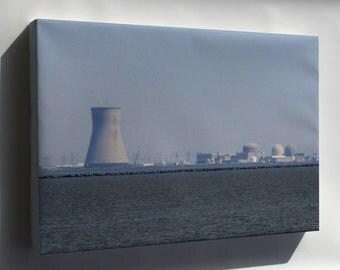 Canvas 16x24; Hope Creek Salem Nuclear 2