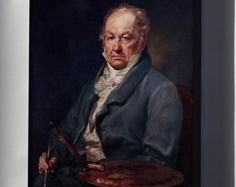 Canvas 16x24; Francisco Goya