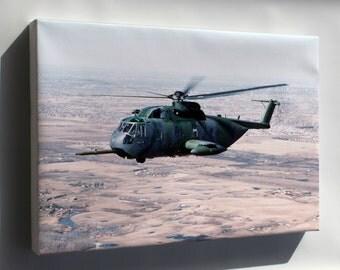 Canvas 16x24; Usaf Hh-3E Jolly Green Giant