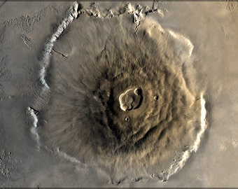 16x24 Poster; Olympus Mons