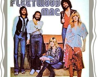 Vintage Fleetwood Mac 'Stevie Nicks' Custom Image T-shirt