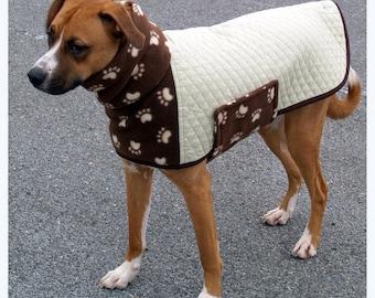 DOG COAT, Winter Dog Coat, Dog Jacket, Custom Dog Coat