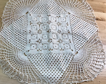 Doily Crocheted Vintage