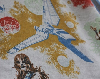 Vintage Star Wars The Empire Strikes Back Twin Sheet Set SEARS