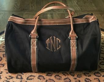Personalized Duffle Bag - Monogrammed Bag - Duffle Bag for Men - Luggage - Overnight Bag