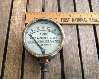 Antique Gauge - American Radiator Pressure Gauge