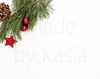 Christmas | Stock Photography | Styled desktop | Styled Stock Photography | Styled Product Photography | Instant Download