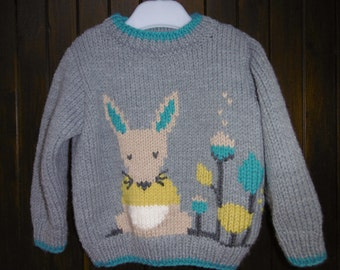 child's sweater pattern mouse