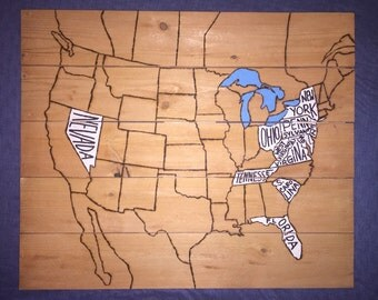 Where Have You Been? USA Map