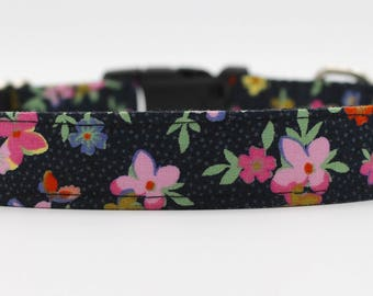 Flirty and Feminine Floral Dog Collar