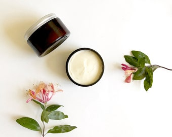 Citrus whipped body butter with Organic Shea butter Organic Coconut oil, argon oil, rose hip oil | All Natural skincare