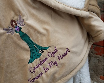 Personalized Blanket - In Memory - In My Heart Forever