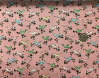 Laundry Day by Windham Fabrics is the cutest fabric with little birds