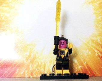 Sinestro Lego Inspired Keyring