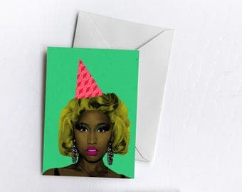 Nicki Celebration Card