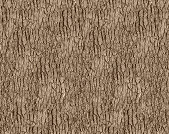Natural Treasures II by Blank Quilting - Tree Bark - Cotton Woven Fabric