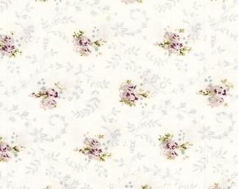 Au maison oilcloth emily Lavender flower coated Cotton