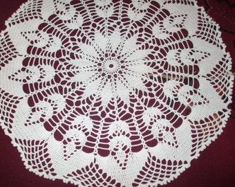 on sale!Beautiful Vintage Handmade Doily